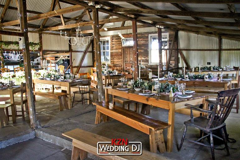 Corrie-Lynn Farm Wedding DJ - KZN Wedding DJ Jarryd Sunkel